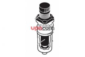 Water filter N108-DS02-1/8  25 mikron with viton EPDM seals