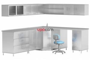 Комплект мебели ARTINOX-3 из нержавеющей стали