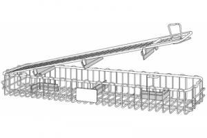 Инструментальная корзина, для 2-х телескопов