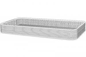 Инструментальная корзина, для DIN системы контейнеров, универсального использования