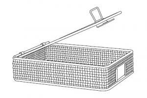 Инструментальная корзина, для маленьких частей