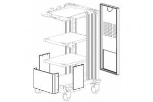 Комплект панелей «MAJ-196», для ENDOALPHA