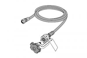 Шланг «MAJ-1080», высокого давления, для газовых балонов PIN