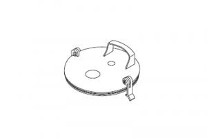 Крышка, для аспирационного сосуда, система одноразового использования