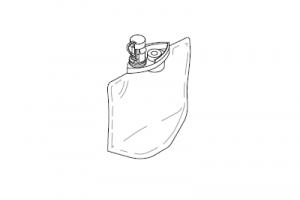 Вкладыш, с отвердителем, для одноразового использования, 25 штук,1 литр