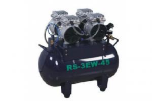 RS3 EW45 - безмаслянный компрессор на две установки (140л/мин, 45л)