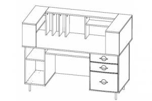 Стол медсестры СМС-01 ЕЛАТ (мод.2)