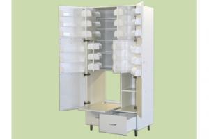 ШМФ-01 (мод.9) — шкаф медицинский для фарпрепаратов