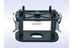 Устройство для перебазировки съёмных базисных протезов (пружинный тип)