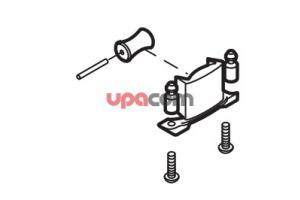 Holder closing plate assembly