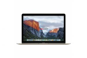 MacBook 12-inch, 256GB, Gold