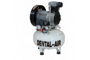 Dental Air 2/24/5 - безмасляный воздушный компрессор без кожуха (150 л/мин) на 2 установки